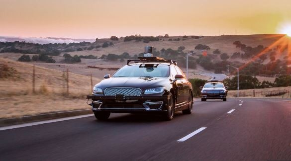 Amazon Invested into Self driving vehicles technology