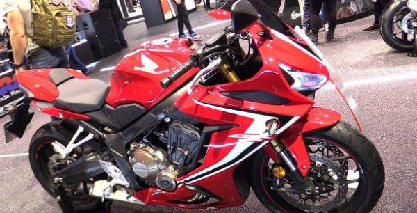 Honda starts booking for upcoming sports bike Honda CBR650R