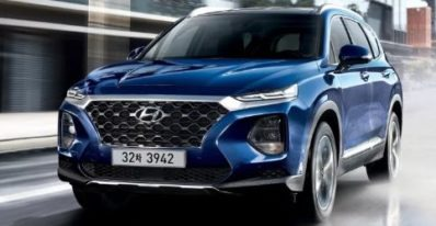 Hyundai introduced Santafe in Pakistan