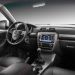 JAC T6 Pickup Truck interior