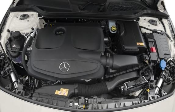 Mercedes AMG CLA45 2018 Engine Image