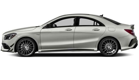 Mercedes AMG CLA45 2018 Side Image