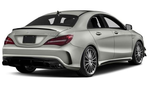 Mercedes AMG CLA45 2018 Title Image