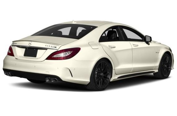Mercedes AMG CLS63 2018 Title Image