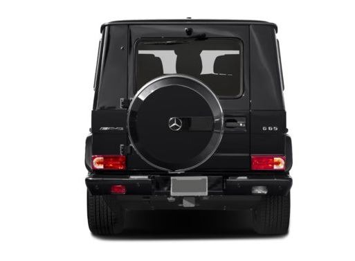 Mercedes AMG G63 2018 Back Image
