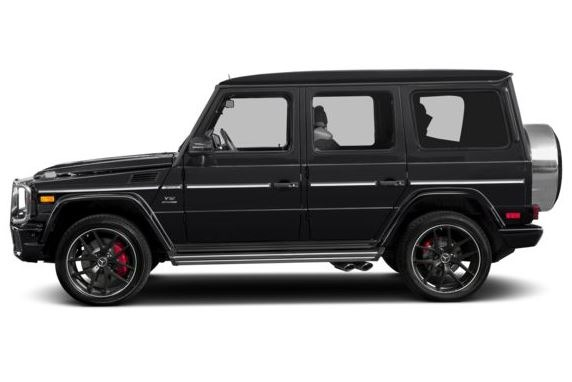 Mercedes AMG G63 2018 Side Image