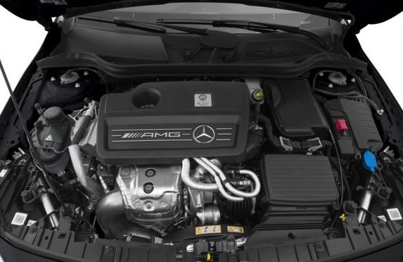 Mercedes AMG GLA45 2018 Engine Image