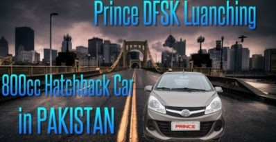 Prince and DFSK launch 800cc Hatchback in Pakistan