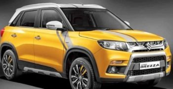 Suzuki Vitara Brezza Best selling SUV in India