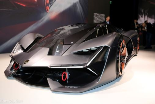 Self Healing Vehicle Terzo Millennio By Lamborghini 2019 News