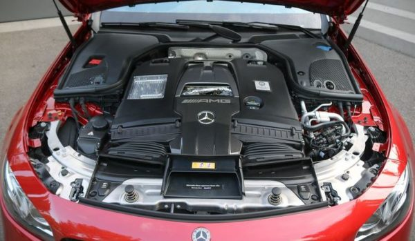 mercedes amg e63 s Wagon 2018 engine image
