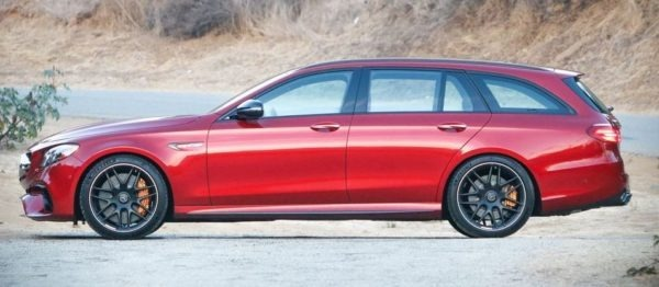 mercedes amg e63 s Wagon 2018 side image