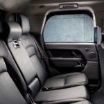 Beautiful interior of Range Rover Sentinel