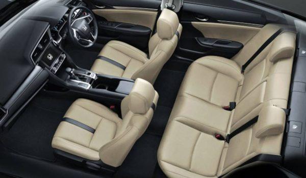 Honda Civic 2019 interior image