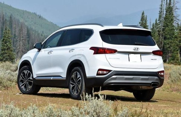 Hyundai Santa Fe 2019 Back Image