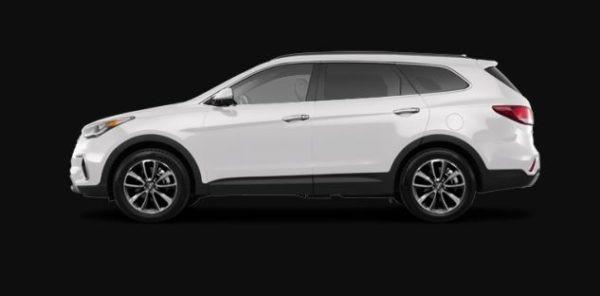 Hyundai Santa Fe 2019 Side Image
