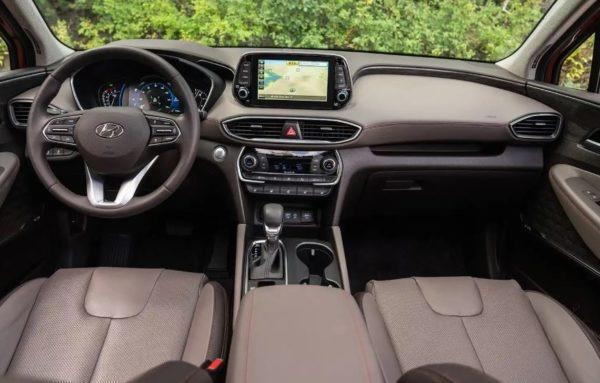 Hyundai Santa Fe 2019 Steering And Transmission