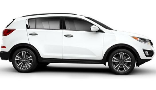 KIA Sportage 2019 Side View