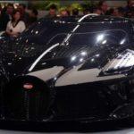 La voiture Noire Buggatti