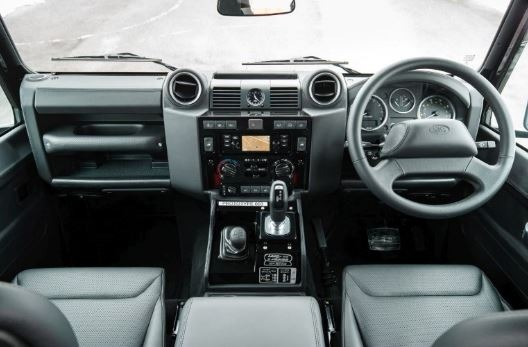 Land Rover Defender 2020 Interior