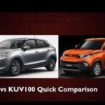 Mahindra KUV100 NXT VS Maruti Suzuki Baleno | Comparison between KUV100 NXT & Suzuki Baleno