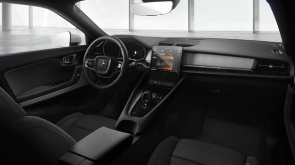 POLESTAR 2 (2020) beautiful interior