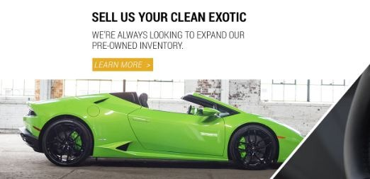 Sell you clean Exotic lamborghini