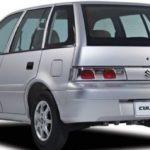 Suzuki Cultus 2016 Rear View