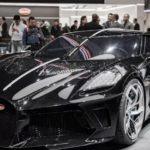 World's Most Expensive car by Bugatti- The La voiture Noire Buggatti