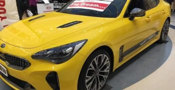 KIA Stinger 2019 Full View and Launch in Pakistan