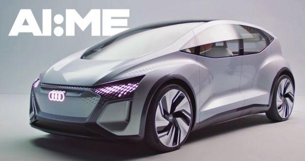 Artificial Intelligent Concept car of Audi AI ME