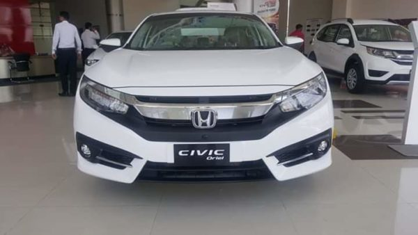 Honda Civic 2019 Front view