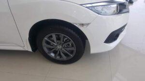 Honda Civic 2019 facelift alloy wheels & side view