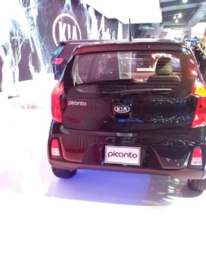 KIA Picanto Rear View