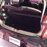 KIA Picanto Rear and Boot