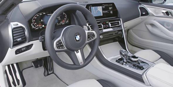 2020 BMW 8 Series front cabin interior