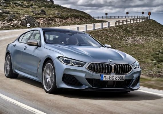 2020 BMW 8 Series front view