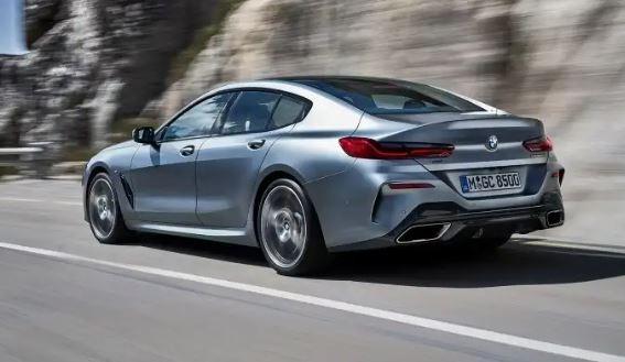 2020 BMW 8 Series rear view