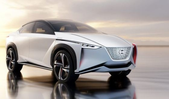 2021 Nissan EV Crossover concept feature image