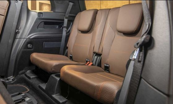 Mercedes Benz GLB Remove able Rear Seats
