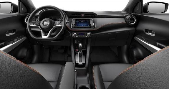 Nissan Kicks 2020 full interior view