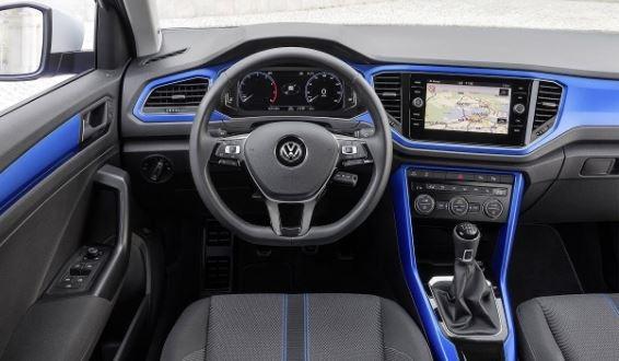 Volkswagen T-Roc Front Cabin Interior