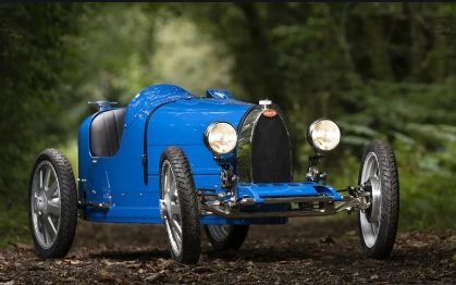 Bugatti Baby 2 Front View