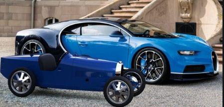 Bugatti Baby 2 side view