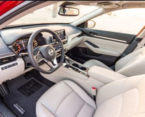 2019 Nissan Altima Interior View