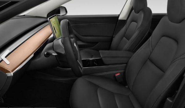 2019 Tesla Model 3 Front Seats