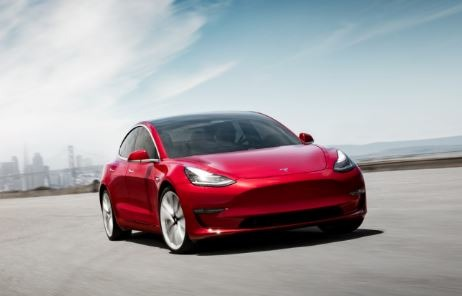 2019 Tesla Model 3 Front View