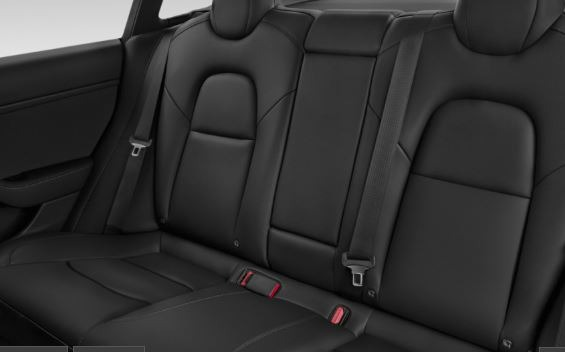 2019 Tesla Model 3 Rear Seats