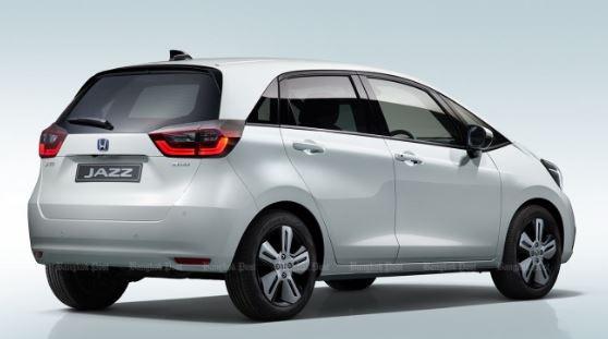 2020 Honda Jazz Hybrid Rear view