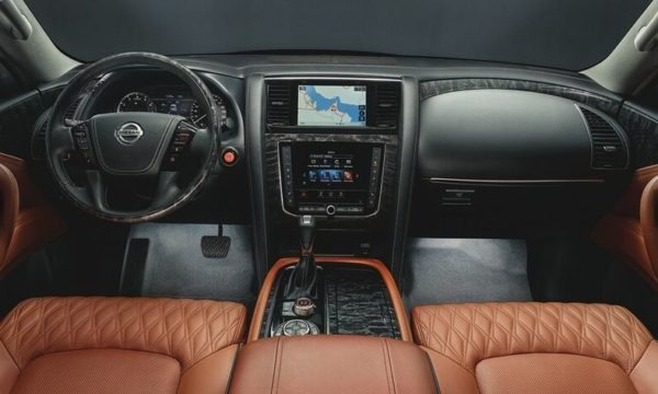 2020 Nissan Patrol Interior front cabin